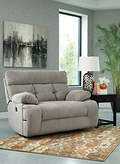 Overly Oversized Recliner in Smoke or Chocolate - Game Room?