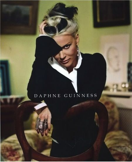 Daphne Guinness wrote the book....