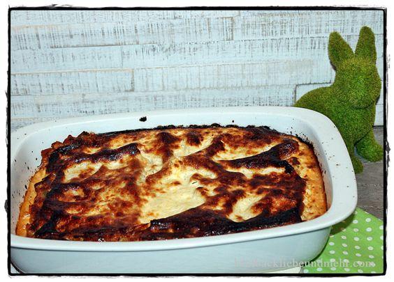 Linsen-Lasagne brotbackliebeundmehr Foodblog