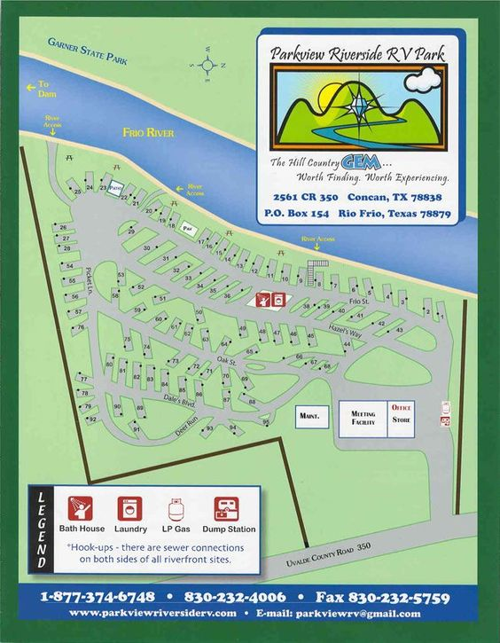Parkview Riverside RV Park | South Texas RV Park and Camping