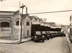 Fábrica do Moinho Santista no bairro da Água Branca.