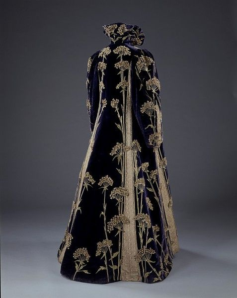 Coat ca. 1895-1900 via The Victoria & Albert Museum