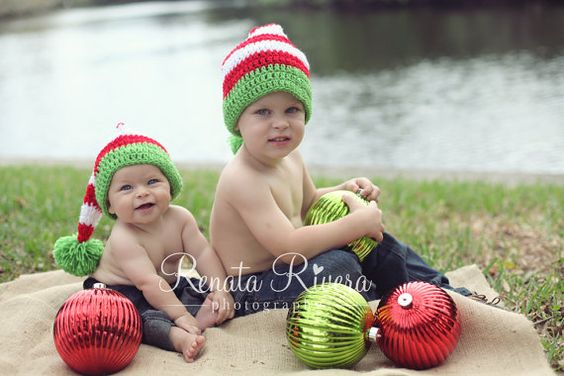 Handmade Kids Santa Hat in Your Choice of by AuntieRuthsBoutique, $28.99