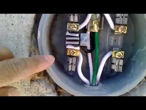 1 Como Preparar Una Acometida Para 220 Volts Arreglando Pequeñas Diagrama De Instalacion Electrica Instalacion Electrica Industrial Imagenes De Electricidad
