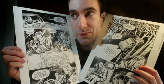 """Craig Thompson - forfatter og illustrator af flere fantastiske grafiske noveller blandt andre Blankets og Habibi. Han bruger """"tegneserie"""" mediet til at lave intime, poetiske fortællinger og hans virkemidler er helt unikke. Fx. bruger han flashback, religiøse citater og tidsløse miljøer. Se hans blog: http://www.craigthompsonbooks.com/"""