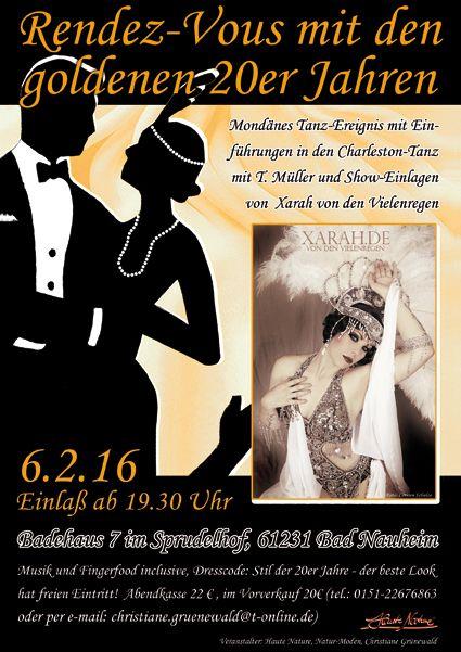 Einladung zur 1. Veranstaltung im Sprudelhof, Badehaus 7, des Bad Nauheimer Welt-Kulturerbes der Jugendstil-Anlage.