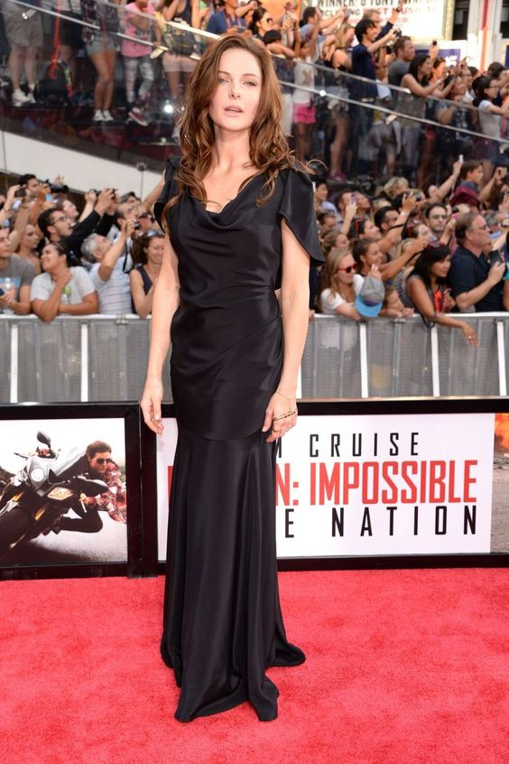 "Rebecca Ferguson - ""Mission: Impossible: Rogue Nation"" Premiere in New York, 2015 
