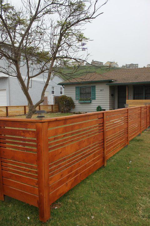Look what jeff did looking back at what jeff built - Fence designs for front yards ...