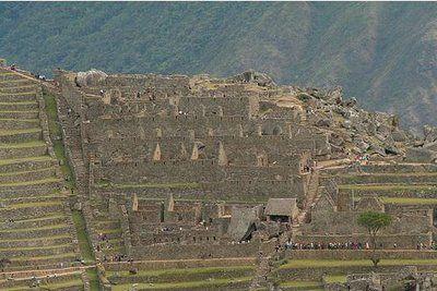 Zona nobre de Machu Picchu