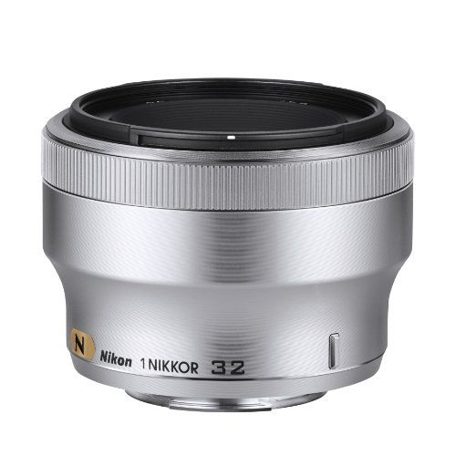 Nikon 1 Nikkor 32mm F 1 2 Silver Zonhunt Digital Camera Lens Dslr Lenses Nikon