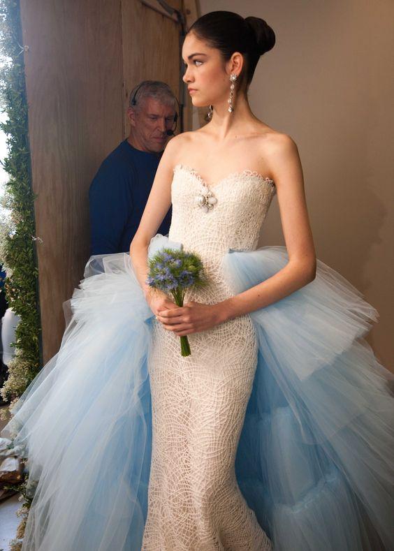 Oscar De La Renta Bridal 2013 Photo By Nathan Kraxberger