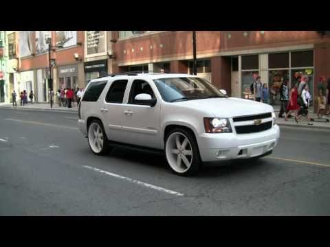 28 INCH RIMS ON THE CHEVY TAHOE