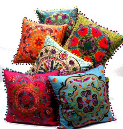 Don't have a place for these but love these pillows!