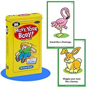 Amazon.com: Move Your Body Fun Deck Cards - Super Duper Educational Learning Toy for Kids: Toys & Games
