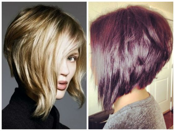 Inverted Bob Hair Styles: This Bob Has A Lot Of Versatility And The Back Can Be