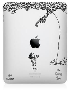 Best iPad decal ever.: Tree Ipad, Iwant, Ipad Cover, The Giving Tree, Ipad Case, Favorite Books, Shel Silverstein, Shelsilverstein