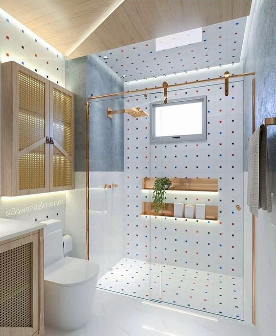 Contemporary Bathroom Has Never Been So Stylish Since The Beginning Of The Year Many Girls Were Look In 2020 Bathroom Interior Design Bathroom Interior House Interior