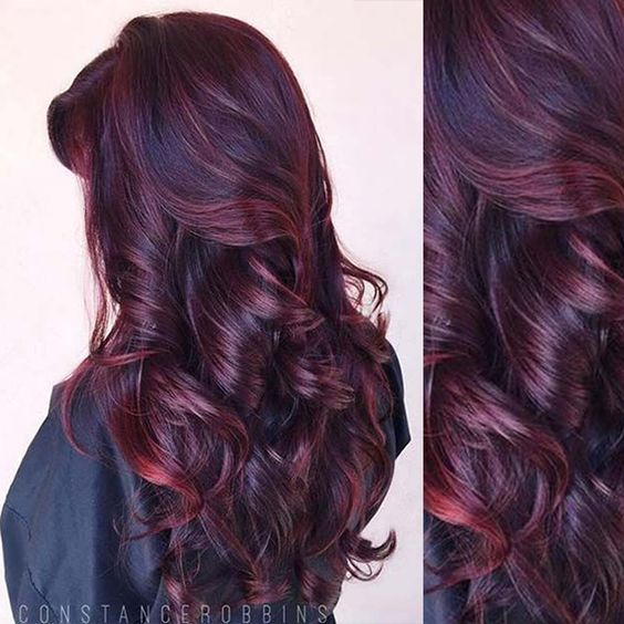 Fabulous Burgundy Hair Color Idea You Should Not Miss  Colorful Hair Extensi
