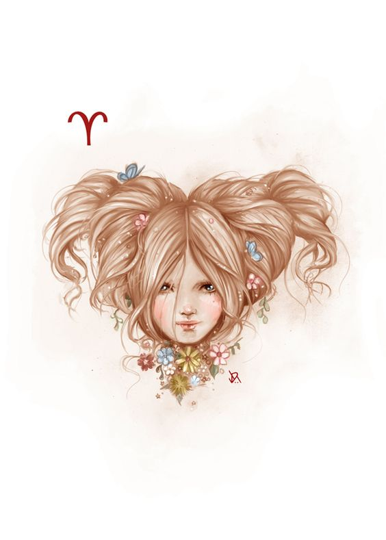How I imagine my hair was like at some point as a child... Only with less volume. xD