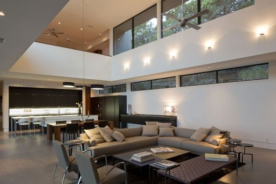Skyline House by Dick Clark Architecture | HomeDSGN, a daily source for inspiration and fresh ideas on interior design and home decoration.
