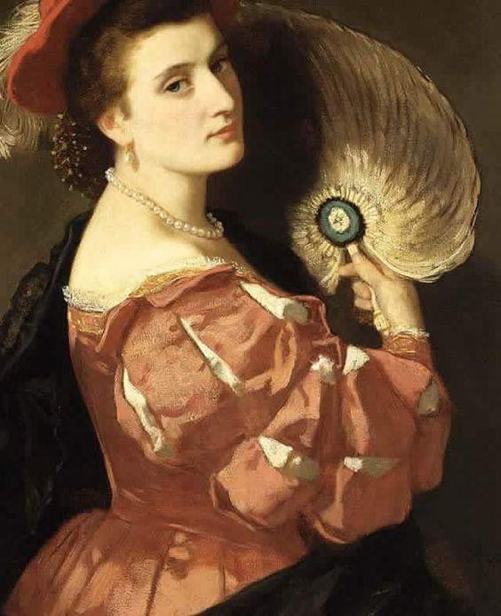 @irenebecas  Que tengas un buen día, Irene   Carl Ludwig Friedrich Becker (1820-1900)