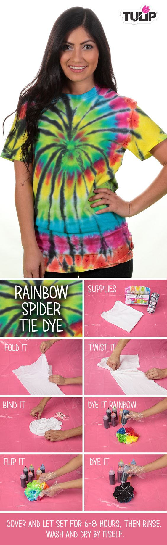 Rainbow Spider DIY: