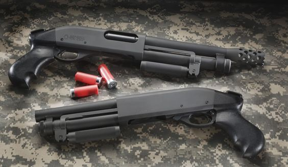 Serbu Super Shorty, pair of these in the backpack for the Apocalypse