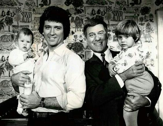 #DALLASTBT - Thursday 30th October 2014 Bobby and J.R with their sons #TBT