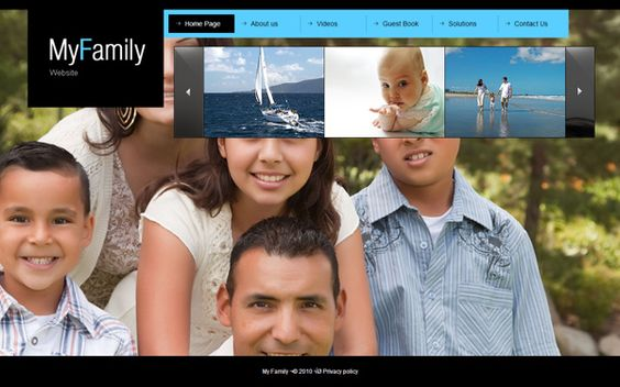 My Family Joomla Template by Dynamic Template