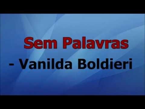 Sem Palavras Vanilda Bordieri Playback Com Letra Youtube Com