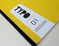Typo Magazine 01 by Sissel Pettersen, via Behance