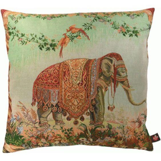 7799 : Elephant - Cushions - Art de Lys