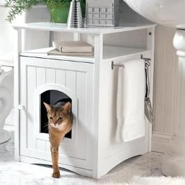 Cat box solutions. I want this!