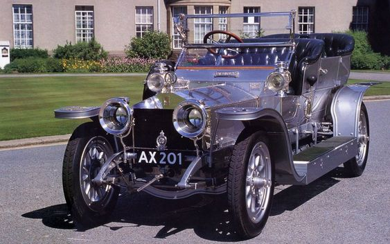 One of 26 cars nominated for Car of the Century. 7874 #Rolls-Royce Silver Ghost cars were produced from 1907 to 1926 including 1701 from the American Springfield factory