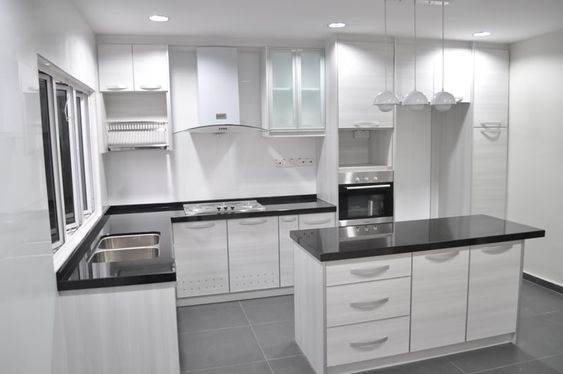 l-shaped kitchen design Kitchen Cabinet Malaysia Kitchen