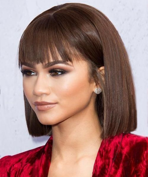 42 Of The Devastating Blunt Bob Hairstyles With Bangs For 2019 Trendy Hairstyles Blunt Bob Hairstyles Bob Hairstyles With Bangs Hairstyles With Bangs