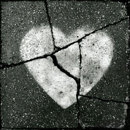 Broken Heart-cracked