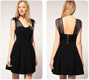petite robe noire - Robe Noire Invite Mariage