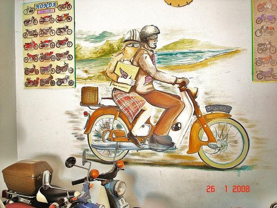 ภาพวาด คนขี่มอเตอร์ไซค์ - ค้นหาด้วย Google