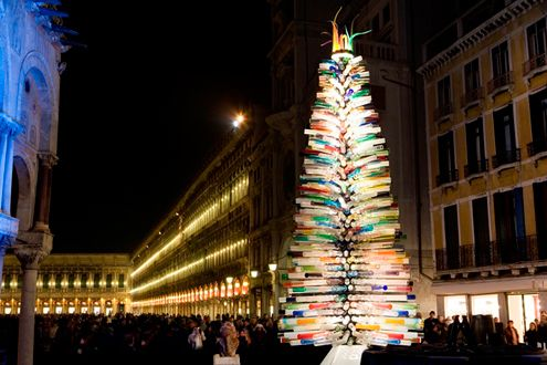Glass tree in Venice, Italy