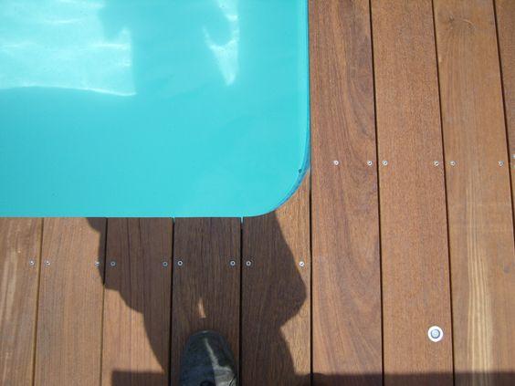 Terrasse ip andernos les bains tour de piscine sans - Plage piscine sans margelle ...