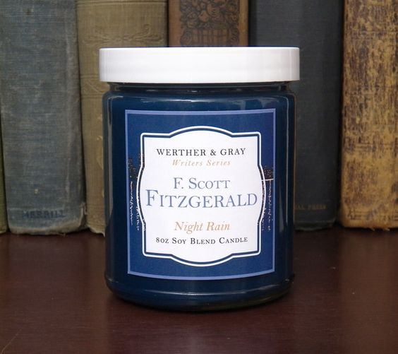 F. SCOTT FITZGERALD, Scented Candle, 8oz Jar