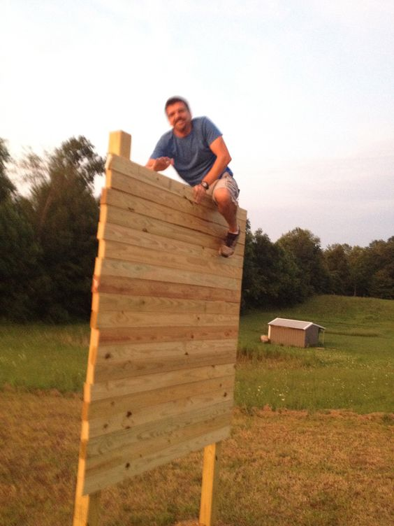 up and over aka berlin wall from tough mudder and not ninja warrior