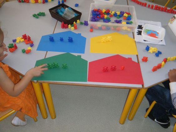 Association couleurs ours maison les couleurs en ps for Association maison