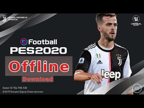 Offline Download Efootball Pes 2020 Offline Download Pes 2020 Android Apk Obb Youtube Offline Games Konami Offline