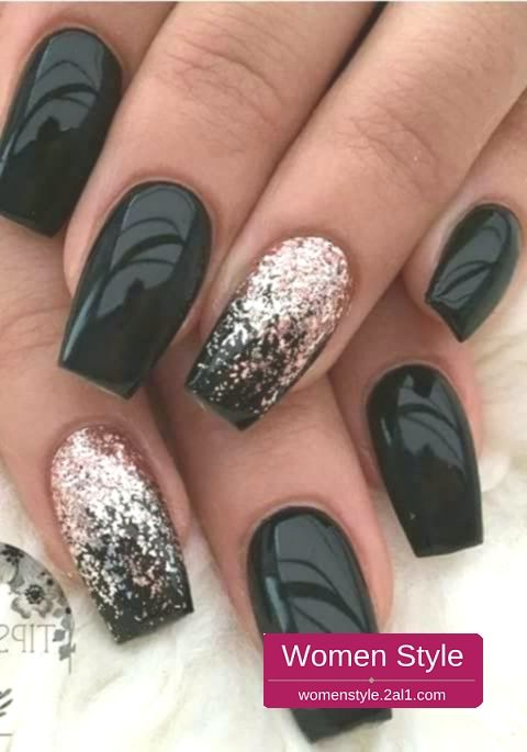 Breathtaking Winter Ombre Nail Design You Have To Want 32