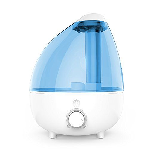 Pure Enrichment MistAire XL Ultrasonic Cool Mist Humidifier for Large Rooms 1 Gallon Water Tank with Variable Mist Control, Automatic Shut Off and