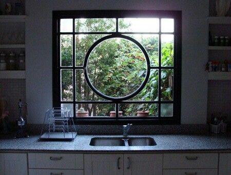 Design for divided light window.