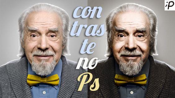 Tutorial de Photoshop: Efeito Contraste de Expressão