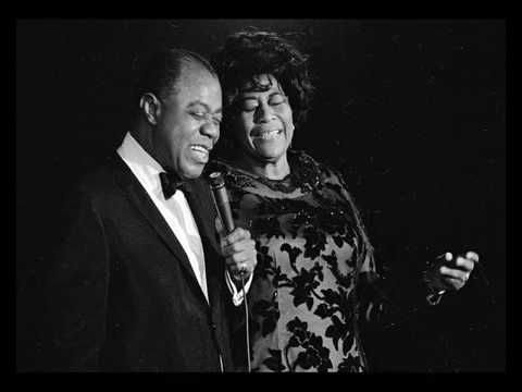 Ella Fitzgerald Louis Armstrong Summertime Summertime And The Livin Is Easy Fish Are Jumpin And The Cotton Louis Armstrong Ella Fitzgerald Jazz Blues